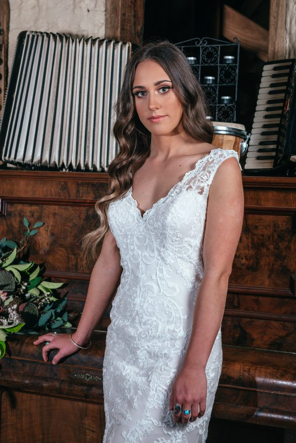 Hailey Hailey wedding dresses in Lace