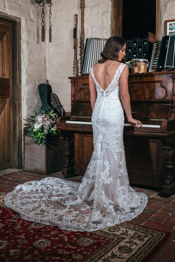 Hailey Wedding Dress from Miss Bella