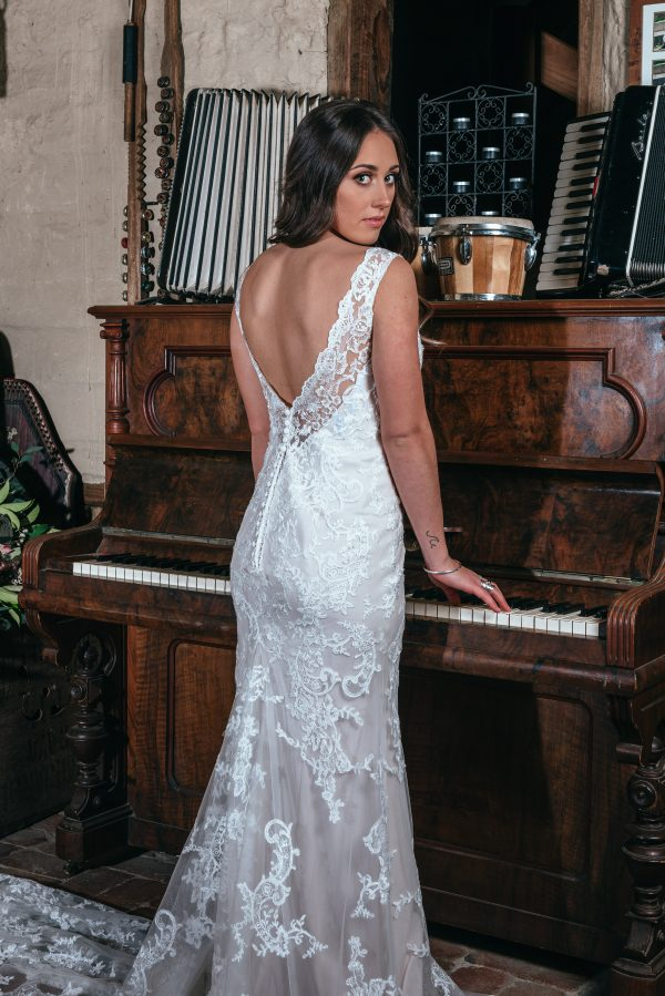 Hailey Lace Wedding Dresses