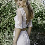2 piece Wedding Dresses Melbourne with Sleeves
