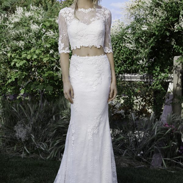 2 piece Lace Wedding Dresses Melbourne