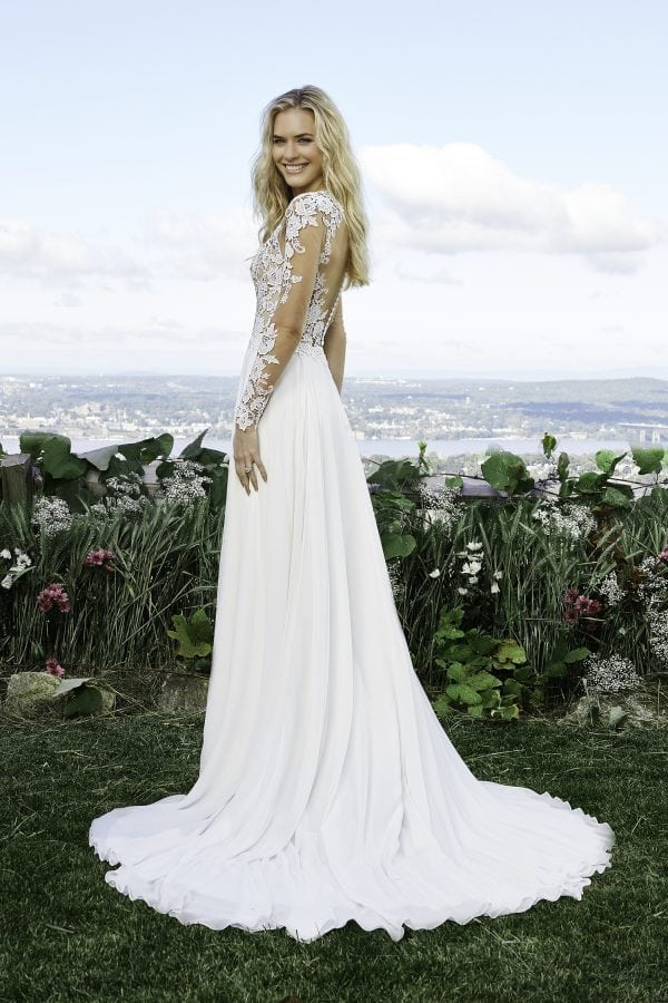 Lilly Wedding Dress with Sleeves