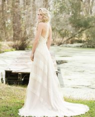 lola crop Wedding Dress