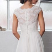 Lace Wedding Dresses with Buttons