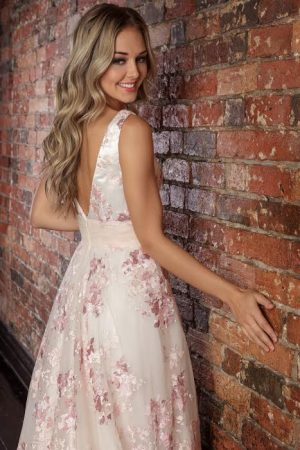 Pink Coloured Wedding Dresses Melbourne