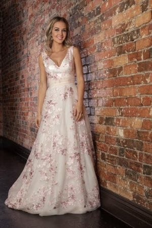 Coloured Wedding Dresses Melbourne