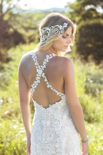 Chantilly Wedding Dress back