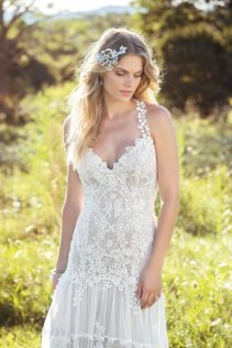 Chantilly Wedding Dress closeup