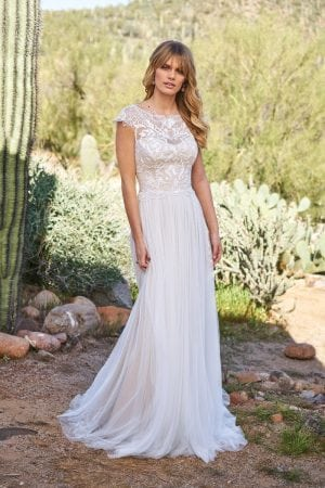 Arlo Wedding Dress front