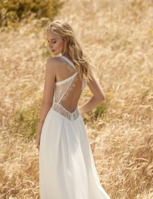 Balou Wedding Dress back