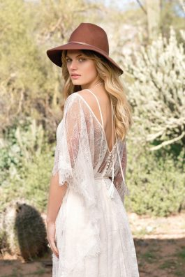 Willow Wedding dress back