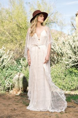 Willow Wedding dress front