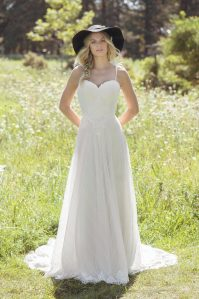 Everley front Wedding Dress
