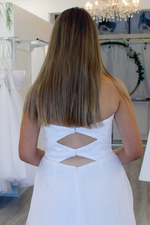 Jayda Deb Dress Back Detail