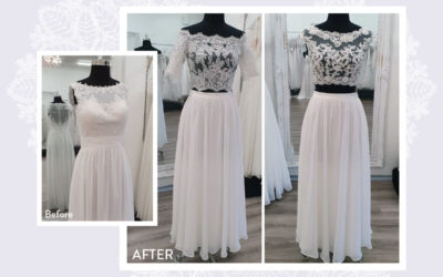 Common Wedding Dress and Bridal Gown Alterations